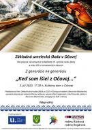 Koncert ZUŠ Očová 3.7.2020 1