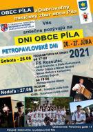 Pozvánka na dni obce Píla 26.-27.06.2021 1